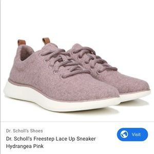 New Dr scholls wool shoes